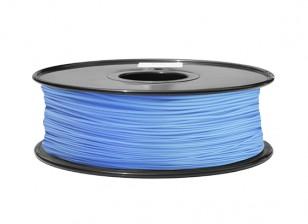 HobbyKing 3D Filamento impresora 1.75mm ABS 1kg Carrete (azul P291C)