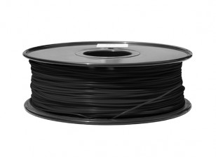 HobbyKing 3D Filamento impresora 1.75mm ABS 1kg Carrete (Negro)