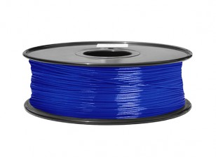 HobbyKing 3D Printer Filament 1.75mm ABS 1KG Spool (Translucent Blue)