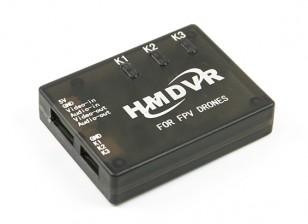 Grabador de vídeo digital para FPV HM aviones no tripulados