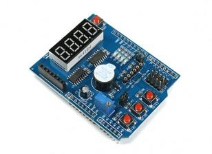 Multi-función de desarrollador del blindaje por un Arduino Uno / Leonardo
