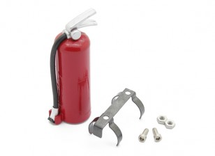 Extintor con montaje para RC 1/10 Escala de oruga