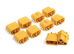 XT60U (XT60 Upgrade) masculino y femenino (5 piezas cada uno)