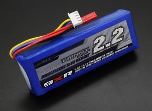 Turnigy 9XR Seguridad 11.1v Protegida (3S) 2200 mAh Paquete transmisor 1.5C