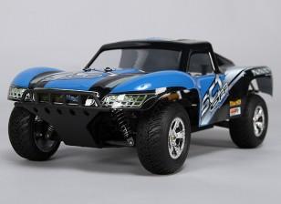 1/16 sin cepillo 4WD Short Course Truck w Sistema / 25Amp