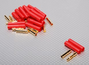HXT 4 mm conector Oro w / Protector (10pcs / set)