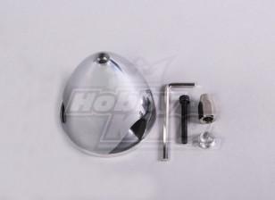 Spinner de aluminio 64mm / 2.5 pulgadas 3 pala