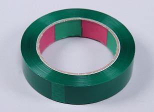Cinta ala 45mic x 24 mm x 100 m (Estrecho - verde)