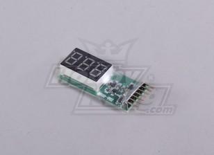 Monitor de la batería 2-6S