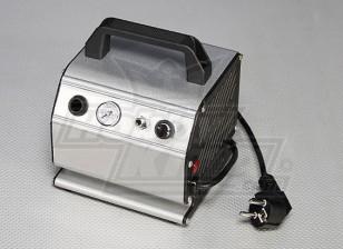 Compresor de aire con presión ajustable y manómetro