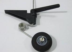 Montaje de la rueda de cola