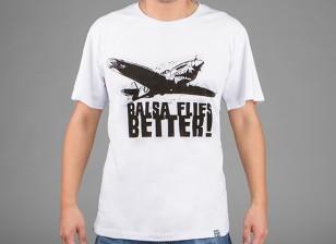 HobbyKing Ropa Balsa vuela mejor camisa de algodón (XXXL)