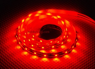 Turnigy alta densidad R / C LED tira flexible-Roja (1mtr)