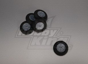 La luz de la espuma de ruedas Diam: 60, Anchura: 18,5 mm (5pcs / bolsa)