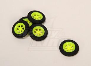 Super Multi luz rayo rueda D30x7mm (5pcs / bolsa)