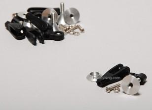 Extra Fuerte control cuernos w / Rodamiento de 15 mm (5pcs)