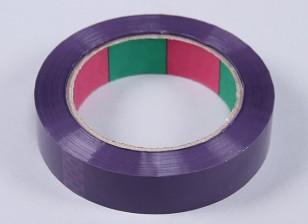 Cinta ala 45mic x 24 mm x 100 m (Estrecho - púrpura)