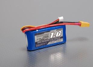 Turnigy 1000mAh 2S Lipo 30C Paquete