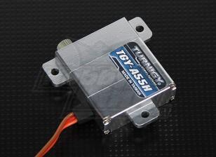 Turnigy ™ TGY-A55H delgada carcasa de aleación de ala DS / MG Servo 8,6 kg / 0.12sec / 28g