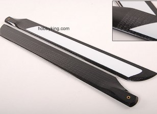 500 mm TIG de fibra de carbono de Z-armadura de láminas principales