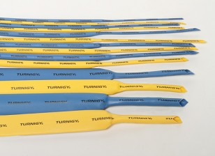 Turnigy 2 mm de encogimiento de calor de tubo Amarillo (1mtr)