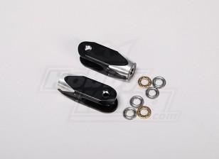 TZ-V2 0.90 Tamaño lámina de rotor principal Grip (Metal)