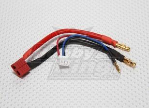 T-enchufe de conexión de cables para la Lipo 2S Estuche (1 unidad)