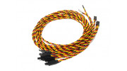 1000mm Twisted Servo Lead Extension (JR) with Hook 22AWG (5pcs/bag)