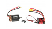 Trackstar 540-20T Brushed Motor & 60A ESC Combo for 1/10th Crawler 1