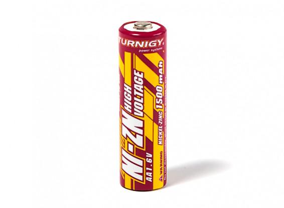 Turnigy Rechargeable Battery AA 1500mAh NiZN 1.6V