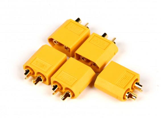 Genuine Male XT60 Connectors w/AMASS Logo (5pcs/bag) 1