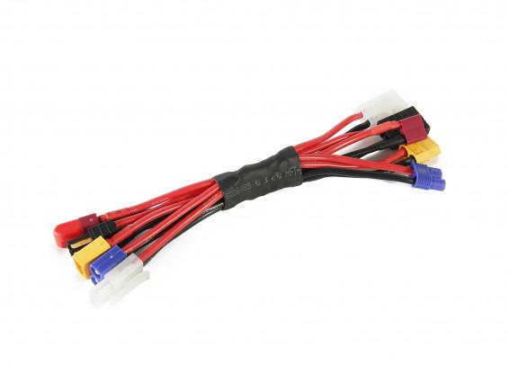 Turnigy Multi Plugged Adapter Lead (XT60/EC3/Tamiya/T Connector/Traxxas)