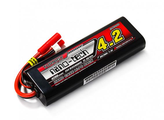 Turnigy nano-tech 4200mAh 2S 25C Hardcase Lipo Confezione