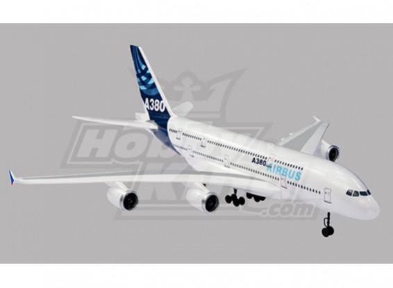 Airbus A380 R / C aereo EPO Plug-n-Fly