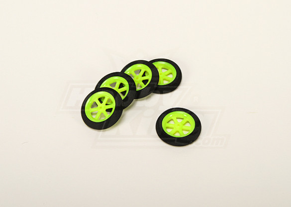 Super Light Multi Spoke Wheel D36x8mm (5pcs / bag)