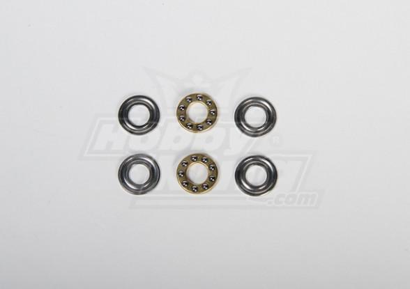 8x16x5mm Cuscinetto di spinta per tutti i tipi Heli (2pcs / set)