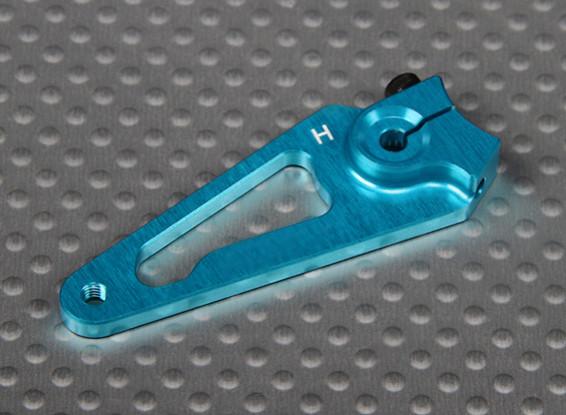 Heavy Duty CNC 1.5in alluminio Servo Arm - Hitec (blu)
