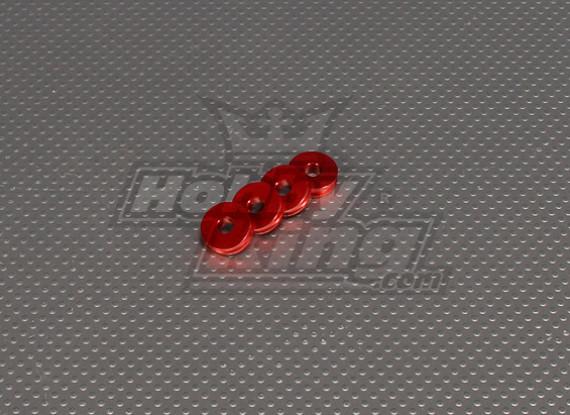 CNC Standoff 5mm (M5) Red