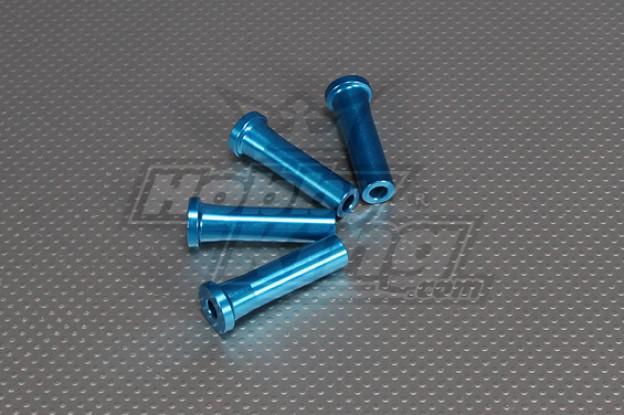 CNC pollici Standoff 50mm (M6,1 / 4 20) Blu