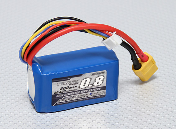 Turnigy 800mAh 3S 30C Lipo Confezione