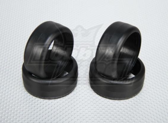 Scala 1:10 plastica dura Drift Pneumatici per RC Auto 26 millimetri (4pcs / set)