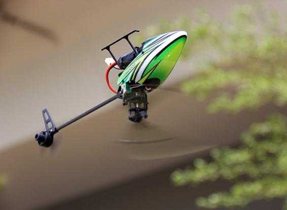 Assault elicottero 100 Flybarless Doppio Brushless Micro 3D w / modulo RF (Radio Ready)