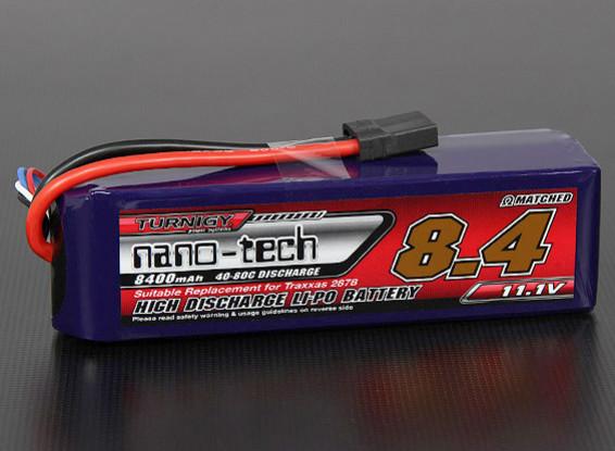 Turnigy nano-tech 8400mAh 3S 40 ~ 80C Lipo Pack (Slash VXL / Slash 4x4)