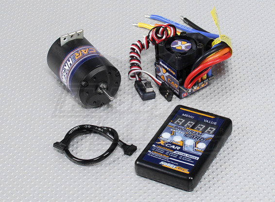 Dipartimento Funzione X-Car Brushless Power System 1900KV / 45A