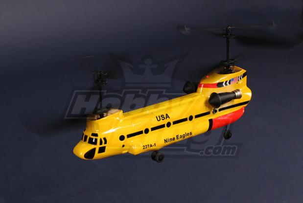 227A Twingo 2.4GHz coassiale tandem elicottero w / 2.4Ghz Tx (V2)