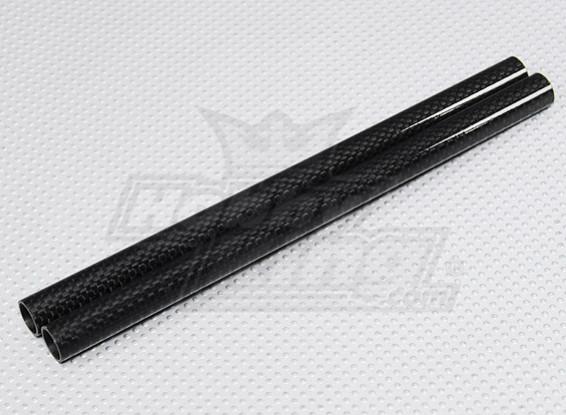 Fibra di carbonio Turnigy Talon V2 Boom 221 millimetri (2 pezzi)