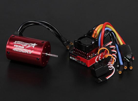 Turnigy Trackstar impermeabile 1/10 Brushless Power System 4250KV / 80A