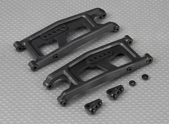 Lower bracci delle sospensioni (L / R) 1/10 Turnigy 4WD Brushless Breve Truck Corso