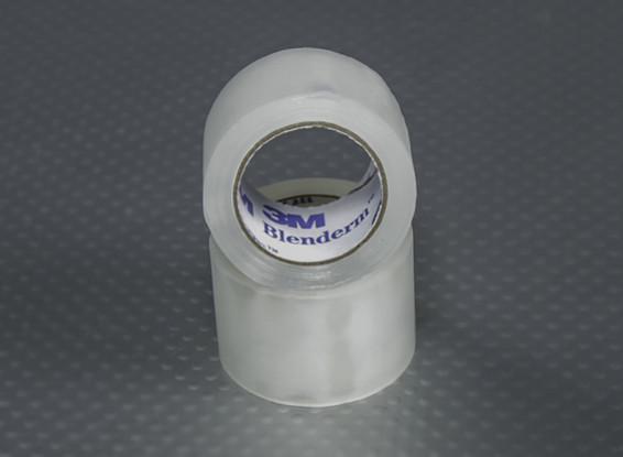 "1 ""x 4m Roll - 3M Blenderm Tape (incernieramento Tape - Twin Pack)"