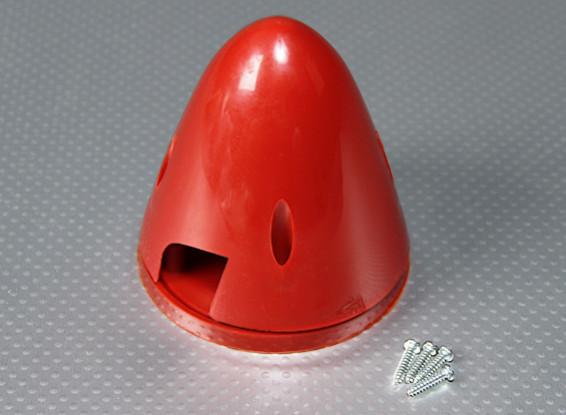 Nylon 83 millimetri Spinner (Red)